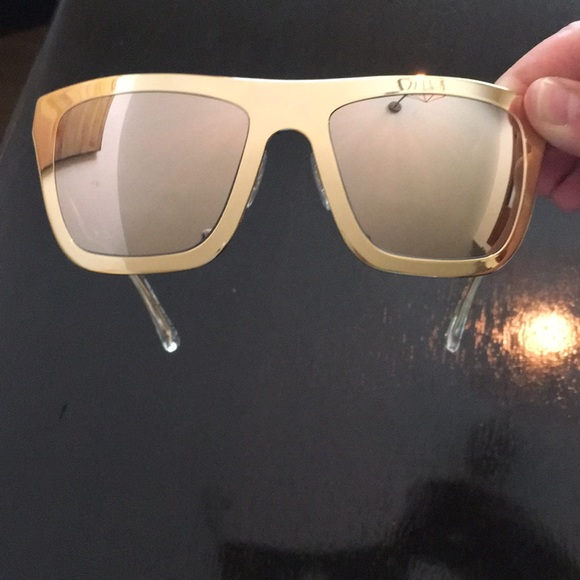 60% clearance top quality suitable for men/women Dolce & Gabbana 18K gold plated sunglasses